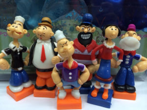 cute-popeye-the-sailor-man-pvc-action-figure-model-toys-dolls-6pcs-set-anime-cartoon-dolls