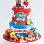 کیکهایی برای دوستداران سگهای نگهبان (پاوپاترول PawPatrol)
